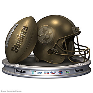 "Blake Jensen ""Pittsburgh Steelers Pride"" Sculpture"