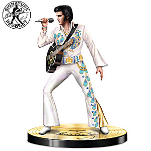 """Visions Of A Legend"" Elvis Presley Sculpture"