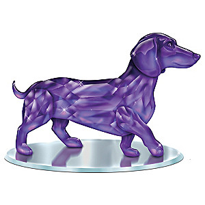 "Blake Jensen ""Radiance Of The Amethyst"" Dachshund Figurine"