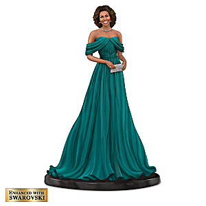 "Keith Mallett Michelle Obama ""Style & Grace"" Figurine"