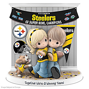 Precious Moments Pittsburgh Steelers Super Bowl Figurine