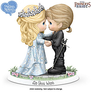 "Precious Moments The Princess Bride ""As You Wish"" Figurine"