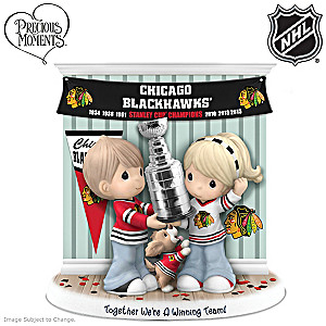 Blackhawks® Stanley Cup® Precious Moments Figurine
