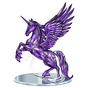 "Blake Jensen ""Magic Of The Amethyst"" Unicorn Figurine"