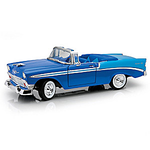 1:18-Scale 60th Anniversary 1956 Chevy Bel Air Diecast Car
