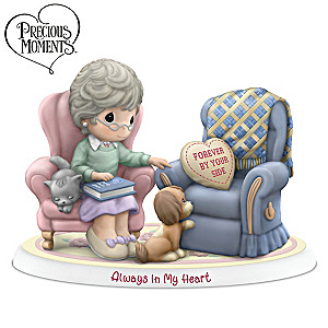 """Precious Moments """"Forever By Your Side"""" Porcelain Figurine"""