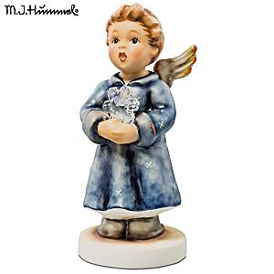 "Authentic 2015 M.I. Hummel ""Pure As Snow"" Angel Figurine"