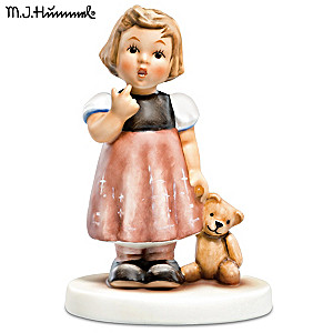 "Authentic M.I. Hummel ""Friends of Hope"" Porcelain Figurine"