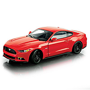 1:18-Scale 2015 Ford Mustang GT Diecast Replica Car: Red