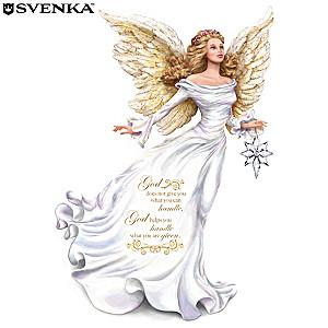 "Dona Gelsinger ""My Strength, My Guide"" Angel Figurine"
