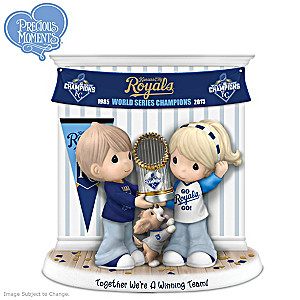 Kansas City Royals World Series Precious Moments Figurine