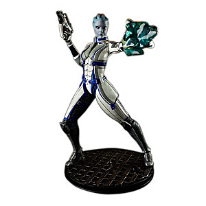 1:4 Scale Dr. Liara T'Soni Sculpture From Mass Effect