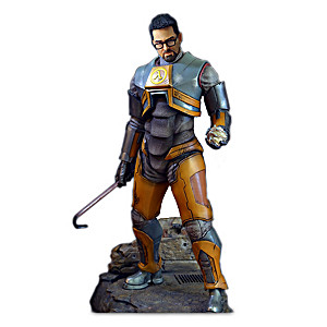 1:4-Scale Gordon Freeman Sculpture From Half-Life 2