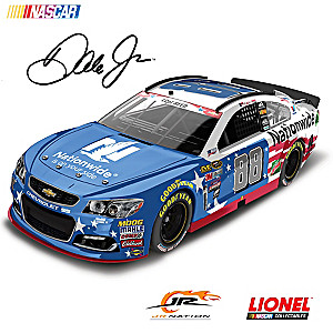 1:24-Scale Dale Jr. No. 88 Stars & Stripes 2016 Diecast Car