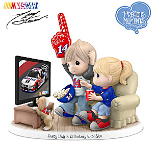 Precious Moments Tony Stewart Fan Porcelain Figurine