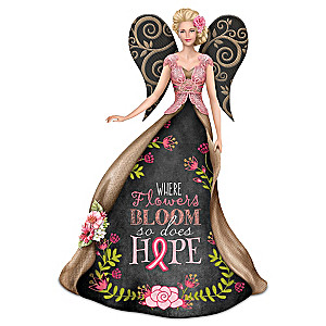 Where Flowers Bloom, So Does Hope Figurine