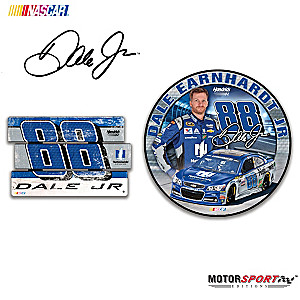 "Dale Earnhardt Jr. ""Signs Of A Champion"" Wall Decor Set"