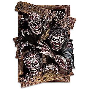 "Dave Aikins ""Dead Visitors"" 3-D Zombie Wall Decor"