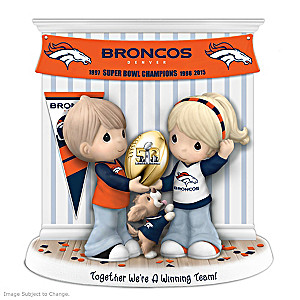 Denver Broncos Super Bowl 50 Precious Moments Figurine