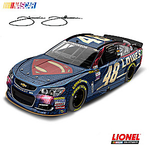 1:24-Scale Jimmie Johnson 2016 Lowe's Superman Diecast Car