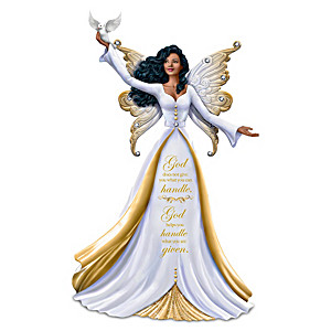 "Keith Mallett ""My Strength, My Hope"" Angel Figurine"