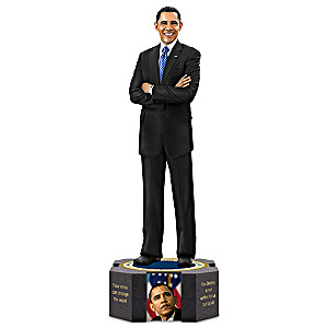 Keith Mallett President Barack Obama Farewell Sculpture