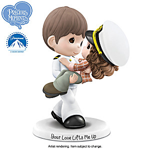Precious Moments An Officer And A Gentleman Figurine
