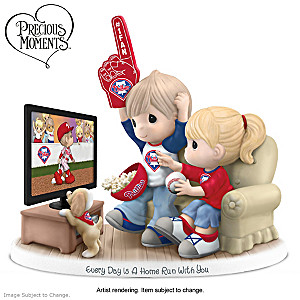 Precious Moments Philadelphia Phillies Porcelain Figurine