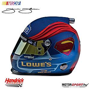 Jimmie Johnson #48 Superman NASCAR® Racing Helmet