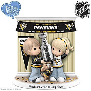 Penguins® Stanley Cup® Precious Moments Figurine