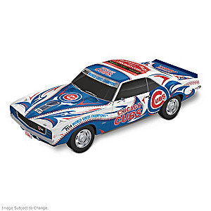 Chicago Cubs World Series 1:18 Scale Camaro Sculpture