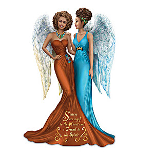Keith Mallett Sisters Are A Gift To The Heart Figurine