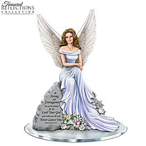 "Dona Gelsinger ""Angel Of Courage"" Inspirational Figurine"