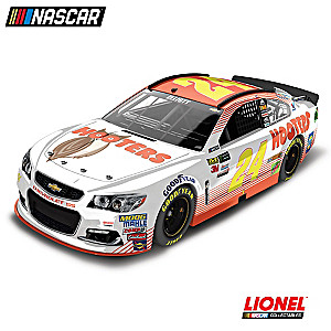 1:24-Scale Chase Elliott No. 24 Hooters 2017 Diecast Car