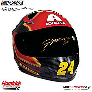 Hand-Autographed Jeff Gordon Axalta Racing Helmet