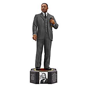 Dr. Martin Luther King Jr. Tribute Figurine By Keith Mallett