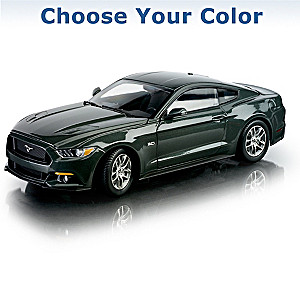 1:18-Scale 2015 Ford Mustang GT Diecast Car: Choose A Color