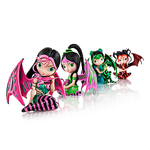 Jasmine Becket-Griffith Fairy And Dragon Figurines