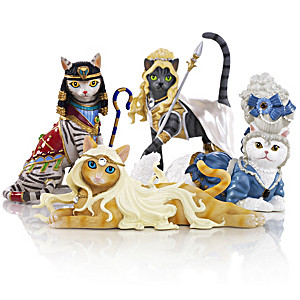 Divine Feline Figurine Collection By Blake Jensen