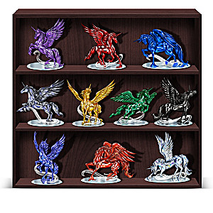 "Blake Jensen ""Rarest Gem Unicorns Of The World"" Figurines"