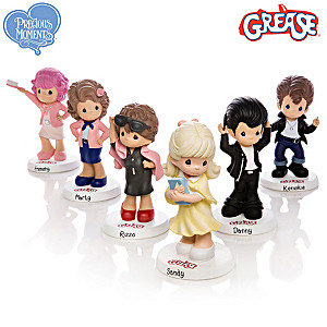 "Precious Moments ""Grease"" Figurine Collection"